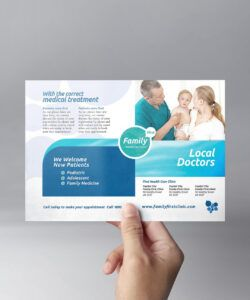 Best Health Care Flyer Template Word