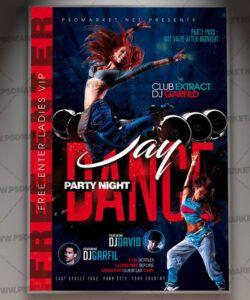 Costum School Dance Flyer Template