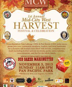 Editable Harvest Festival Flyer Template Doc Sample