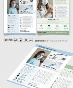 Editable Health Care Flyer Template Pdf
