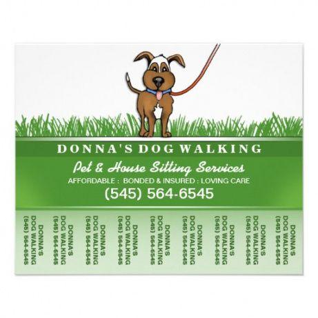Editable Pet Sitting Flyer Template Pdf Sample