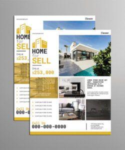 Editable Real Estate Farming Flyer Template Doc Example