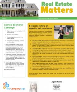 Editable Real Estate Farming Flyer Template Pdf Sample