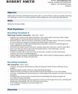 Editable Recruitment Consultant Job Description Template Word Sample