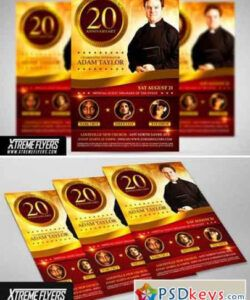 Free Church Anniversary Flyer Template Excel
