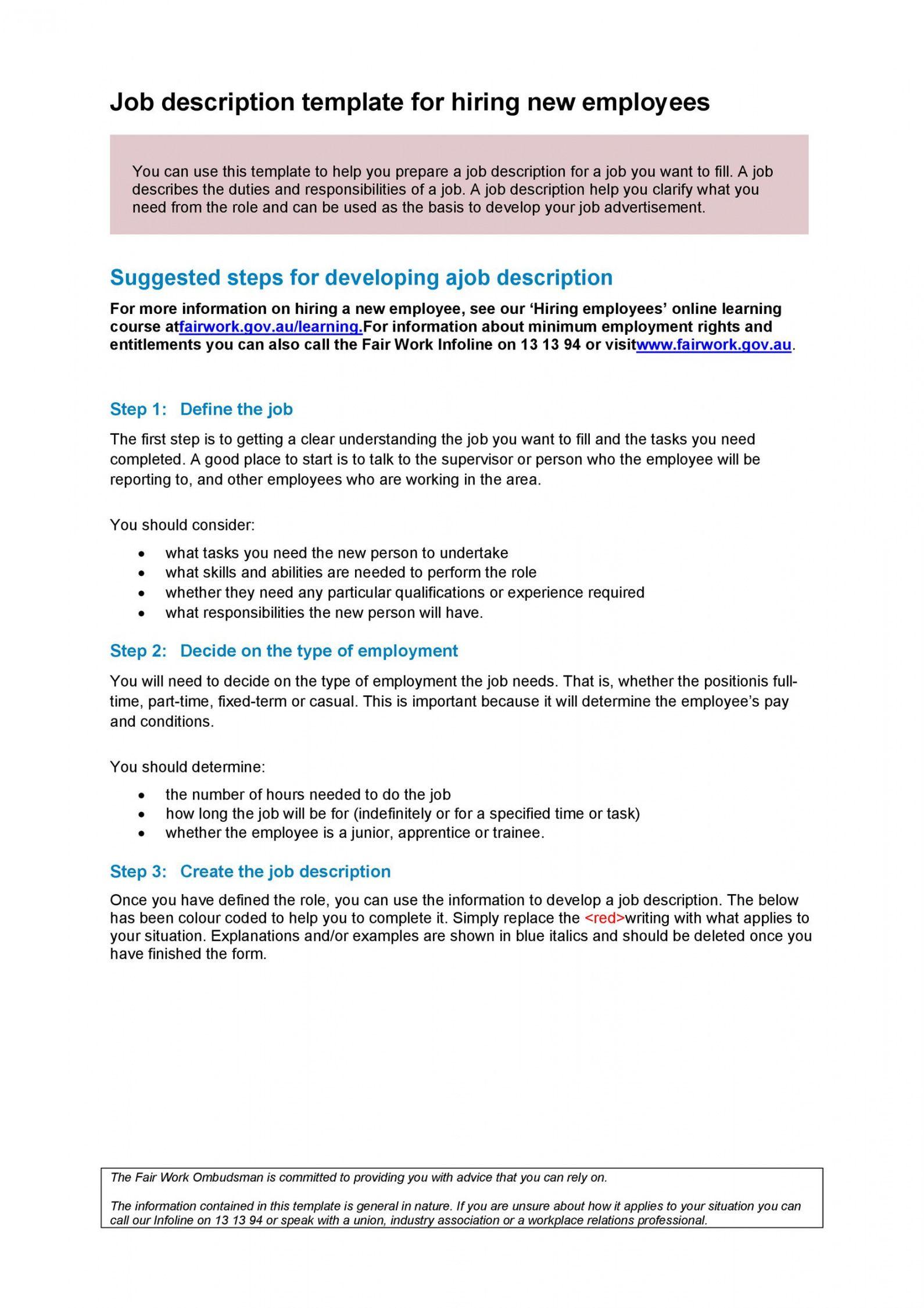 Practice Manager Job Description Template Doc Sample