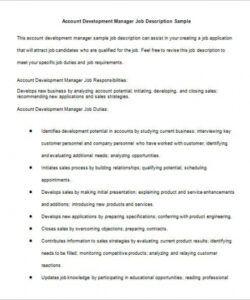Practice Manager Job Description Template Pdf Example