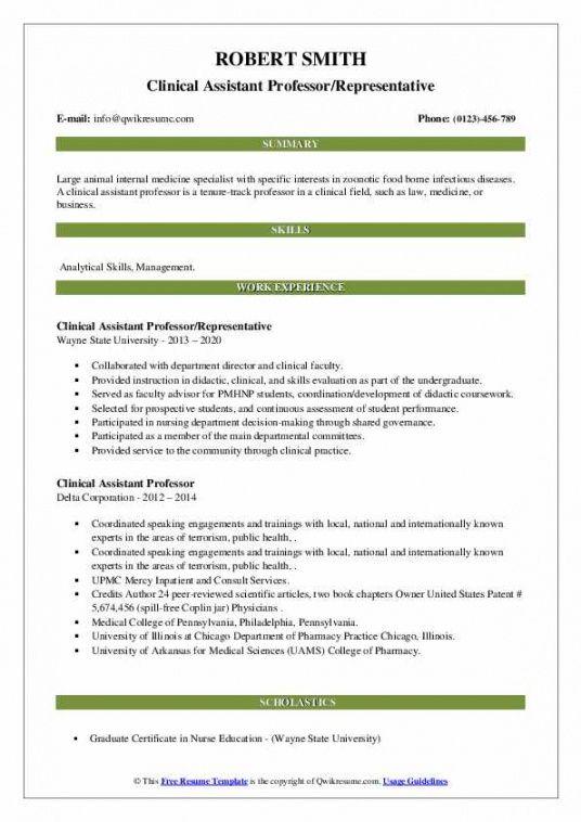 Printable Committee Job Description Template  Example
