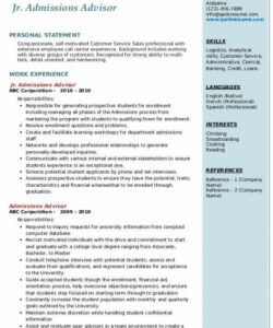 Printable Committee Job Description Template Excel Example