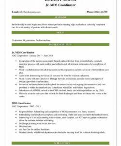 Printable Committee Job Description Template Pdf Example