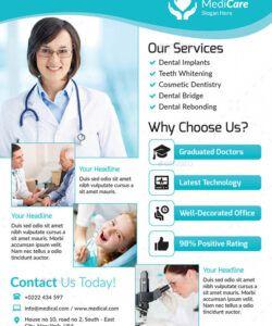 Printable Health Care Flyer Template  Sample