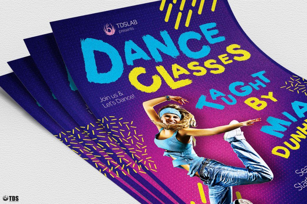 Printable School Dance Flyer Template  Sample