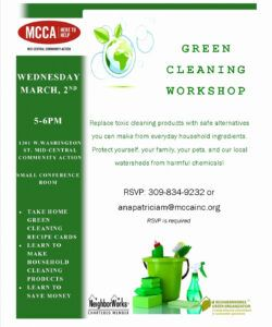 Professional Community Clean Up Flyer Template  Example