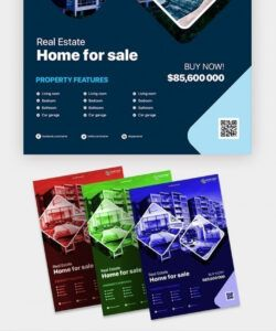 Professional Real Estate Farming Flyer Template Excel Sample