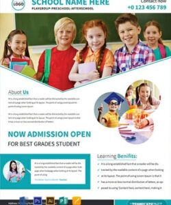 Professional School Picture Day Flyer Template Doc Example