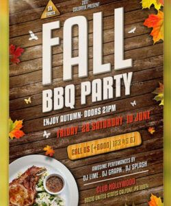 Barbeque Flyer Template Doc Example