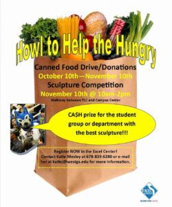 Professional Canned Food Drive Flyer Template Doc Sample