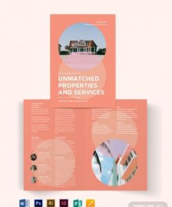 11 vacation rental brochure templates illustrator vacation rental flyer template pdf