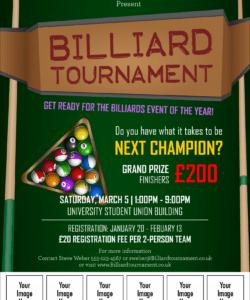 billiard tournament image flyer pool tournament flyer template pdf