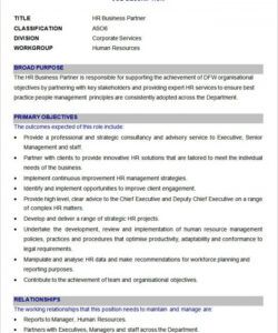 free 55 free hr job description templates  hr templates blank job description template pdf