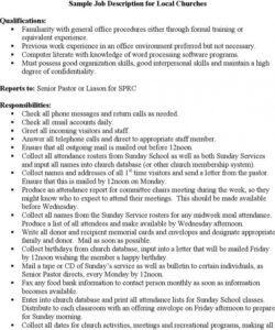 free 8 word job description templates free download administrative assistant job description template