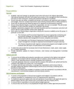 general and operations manager job description samples generic job description template