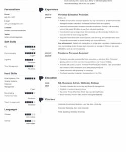 personal assistant resume sample job description & skills personal assistant job description template