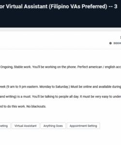 virtual assistant proposal sample letter for freelancer virtual assistant job description template doc