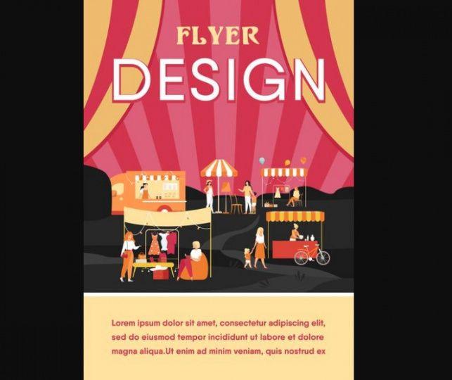 11 free flea market flyer template download  graphic cloud flea market flyer template pdf