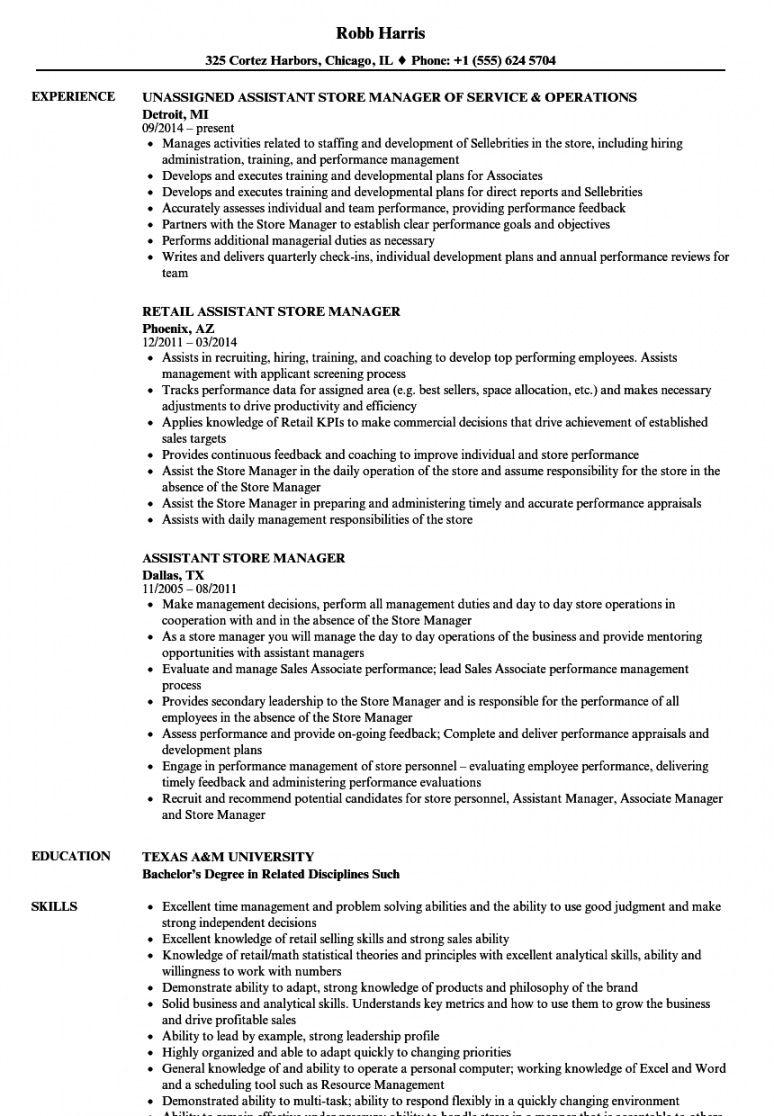 assistant retail managers resume template   mt home arts retail manager job description template doc