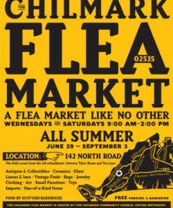 chilmark flea market on behance flea market flyer template doc