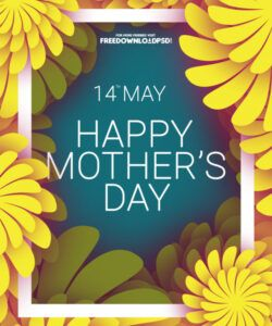 [download] mothers day colorful flyer  freedownloadpsd mothers day flyer template and sample