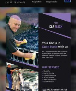 free car wash flyer  48 free psd eps indesign format mobile car wash flyer template pdf