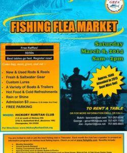 free kayak fishing virginia beach gbfa fishing flea market flea market flyer template and sample