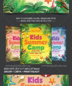 free kids summer camp v03  flyer psd template  by elegantflyer day camp flyer template pdf