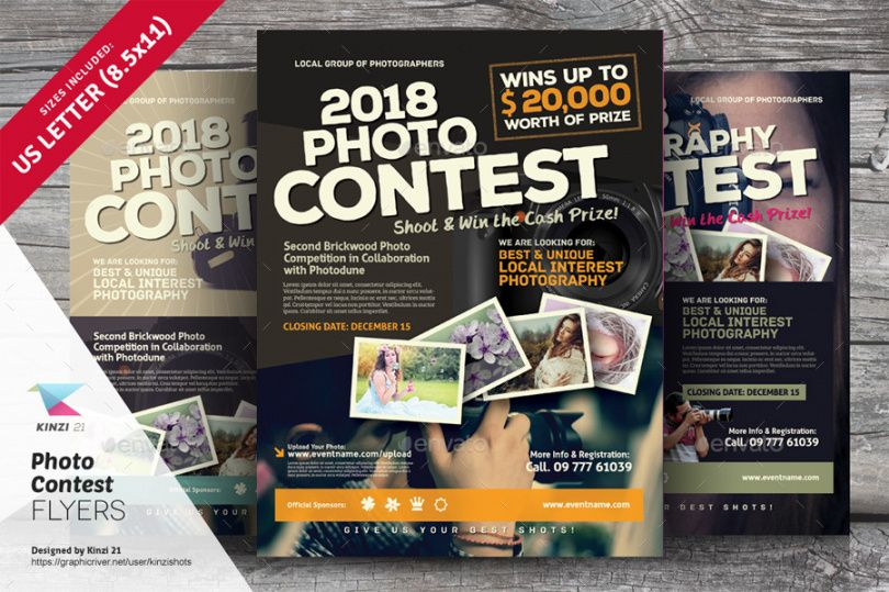 free photo contest flyer templates by kinzishots  graphicriver sales contest flyer template and sample