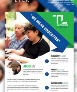 free tutoring flyer template  26 free psd ai vector eps summer tutoring flyer template doc