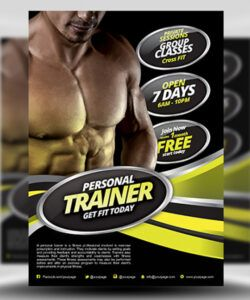 personal fitness flyer template  flyerheroes exercise class flyer template pdf